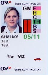 Gammelt ID-kort