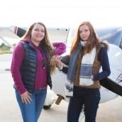 Solrun og Katrine vil sende flere til himmels